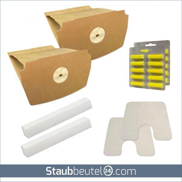 SPARSET 20 Staubsaugerbeutel + 4 Filter + 20 Duft geeignet für Lux D 748 - D 795