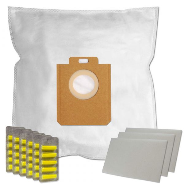 MEGASET 30 Duftstäbchen + 30 Staubsaugerbeutel Für AEG/Philips 200/205 s-bag und Typ PH86