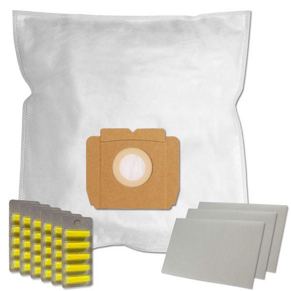 MEGASET 30 Duftstäbchen + 30 Staubsaugerbeutel geeignet für AEG Typ Gr. 28 und Typ A07