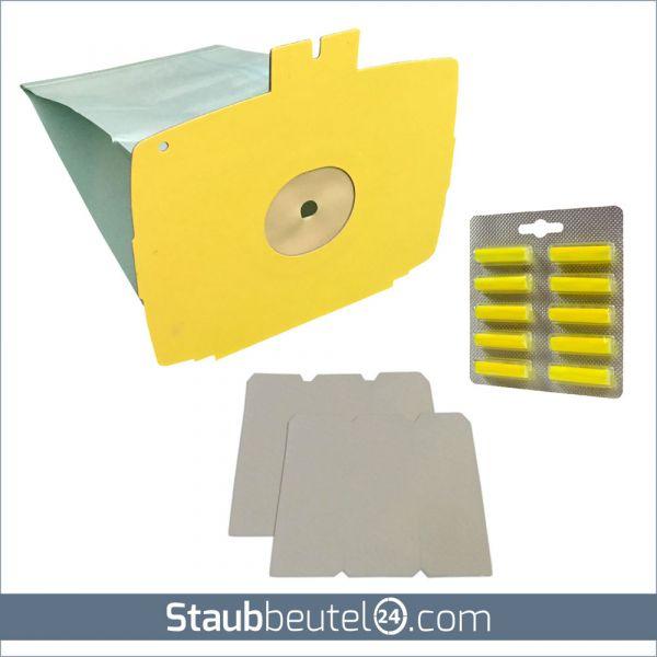 Sparset (10 Staubsaugerbeutel + 2 Filter + 10 Duft) geeignet für Lux D 715 - D 745