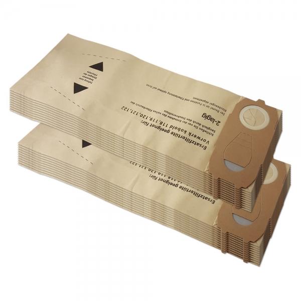 20 Staubsaugerbeutel geeignet für Vorwerk Kobold VK 118 119 120 121 122