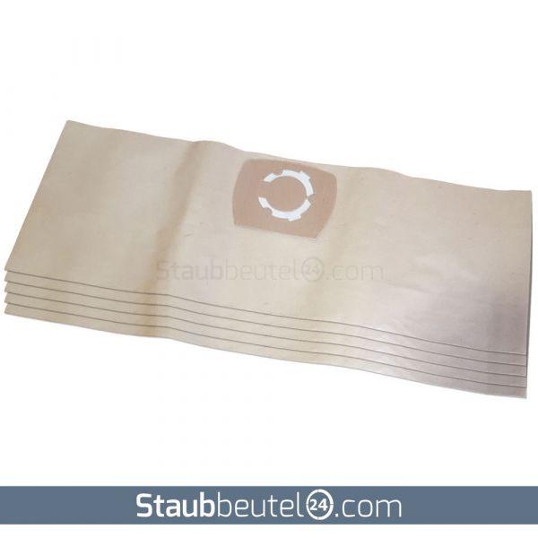 5 Staubsaugerbeutel geeignet für Einhell, Siemens, Thomas, Kärcher und Typ UNI20 - 20 Liter