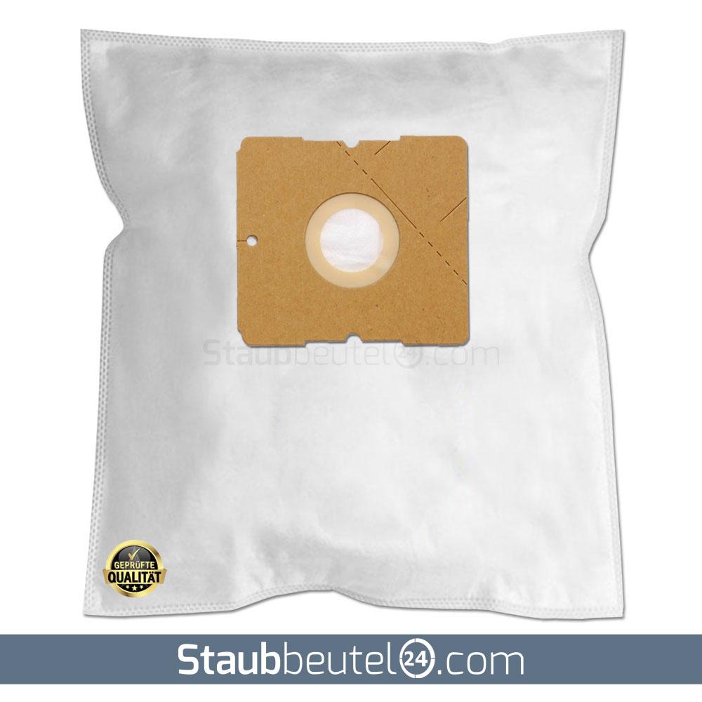 2 Filter passend für MultiTEC 1600 BSS 20 Staubsaugerbeutel 3-lagig