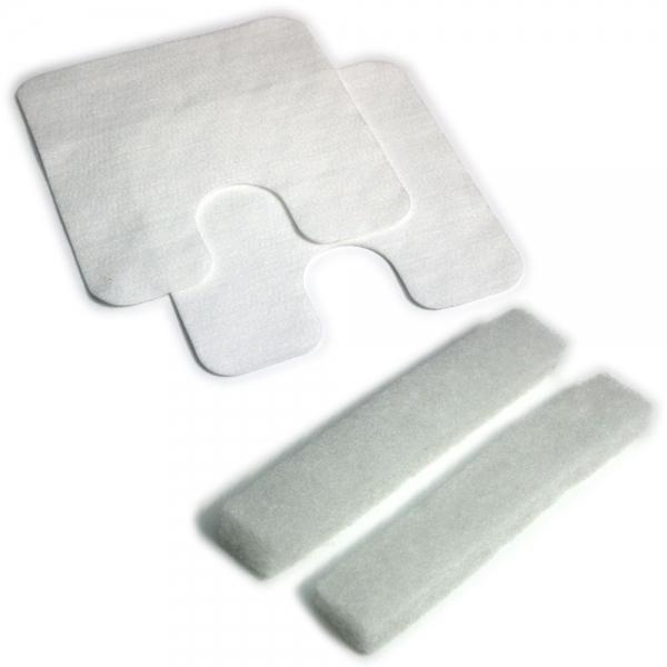 FILTERSET 2 Motorfilter + 2 Abluftfilter geeignet für Lux / Electrolux D 748 - D 795