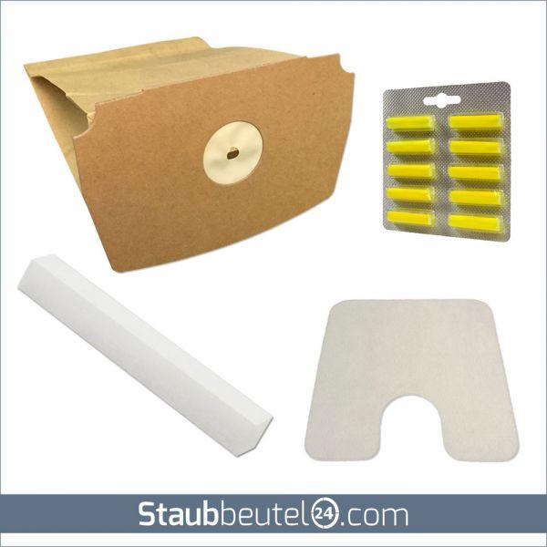 Sparset (10 Staubsaugerbeutel + 2 Filter + 10 Duft) geeignet für Lux D 748 - D 795