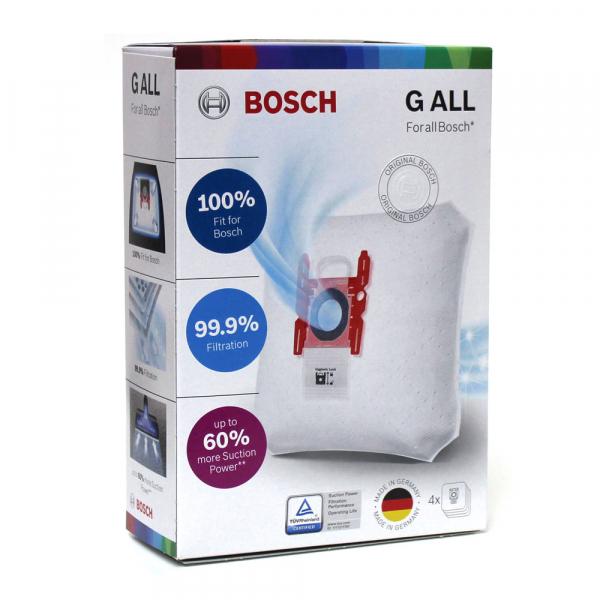 4 Staubsaugerbeutel für BOSCH PowerProtect Type G ALL - BBZ41FGALL