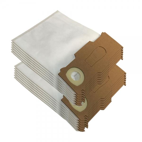12 Staubsaugerbeutel geeignet für Vorwerk Kobold VK 130 131 SC aus Mikrovlies
