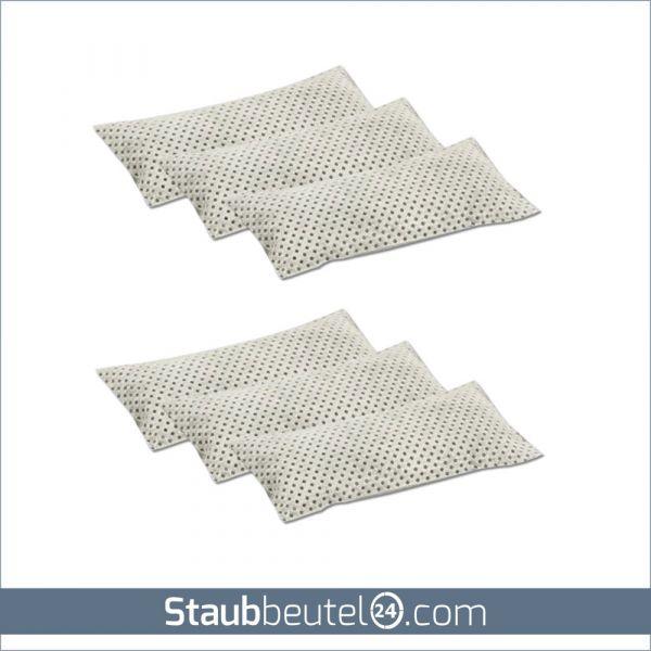 6 Aktivkohlepads geeignet für alle Staubsaugerbeutel