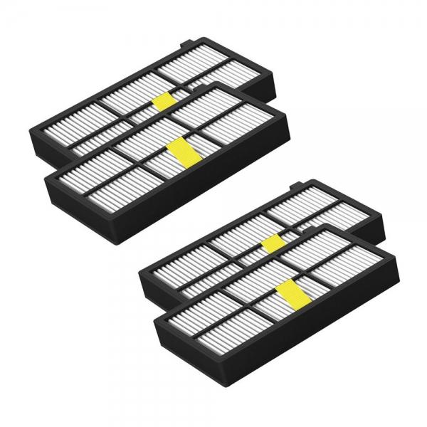 4 AeroForce HEPA Filter geeignet Für iRobot Roomba 800 und 900 Serie