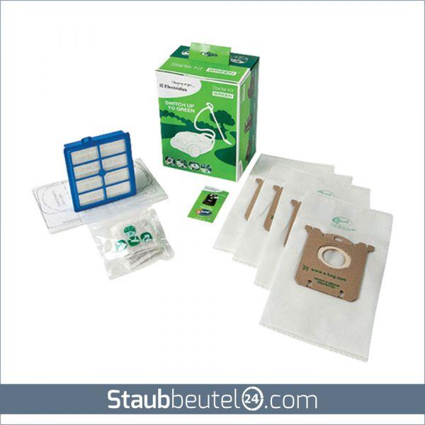 Original ELECTROLUX S-Bag Geen Starter Kit GSK1 Staubsaugerbeutel + Filter