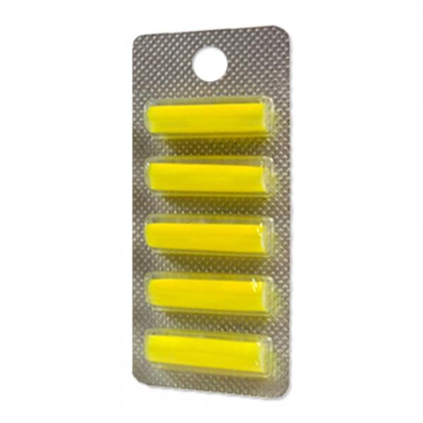 5 Duftstäbchen geeignet für alle Staubbeutel - mit Zitronenduft