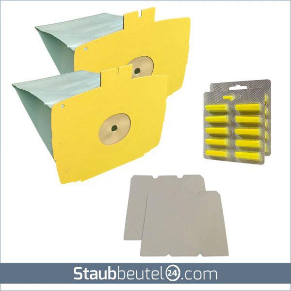 SPARSET 20 Staubsaugerbeutel + 2 Filter + 20 Duft geeignet für Lux D 715 - D 745