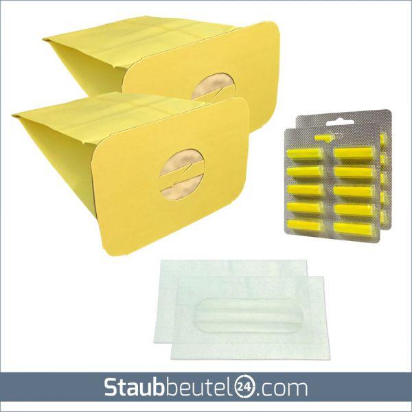 SPARSET 20 Staubbeutel + 2 Filter + 20 Duft geeignet für Electrolux / Lux Z317, Z320, Z325, Z345,