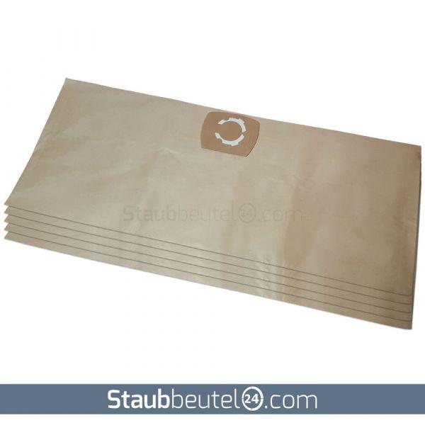 5 Staubsaugerbeutel geeignet für Einhell, Thomas, ShopVac, Kärcher und Typ UNI30 Net, 30 Liter