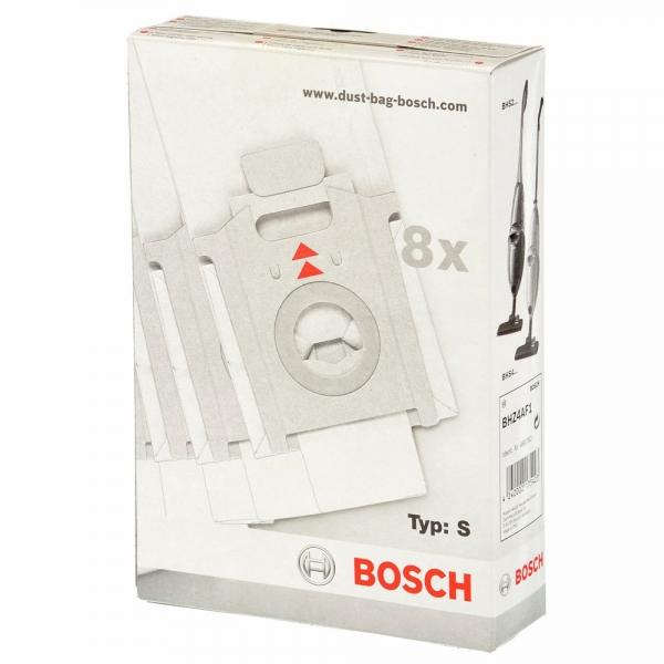 8 Staubsaugerbeutel für BOSCH Typ S - BHZ4AF1 - Serie BSS2 ... BHS21 ... BHS4 ...
