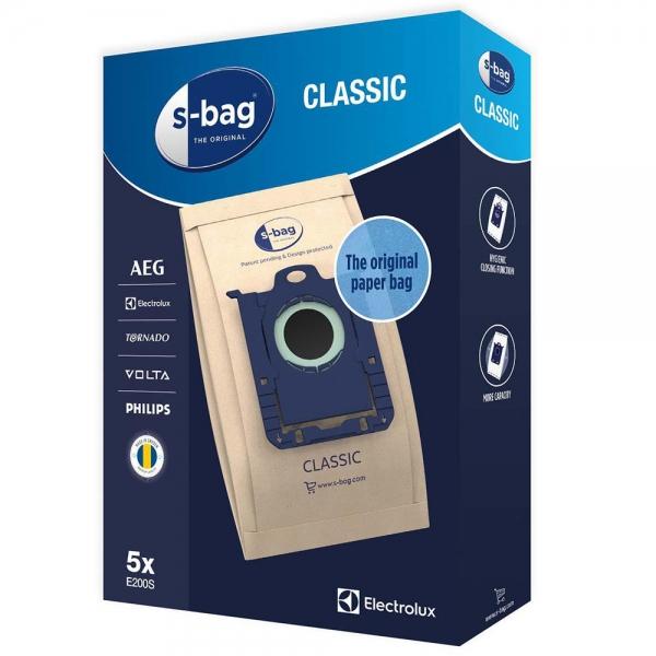 5 Staubsaugerbeutel für AEG, Electrolux, Philips S-Bag Classic E200S