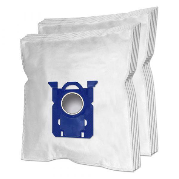 10 PREMIUM Staubsaugerbeutel geeignet für AEG/Philips 200/205 s-bag und Typ PH86