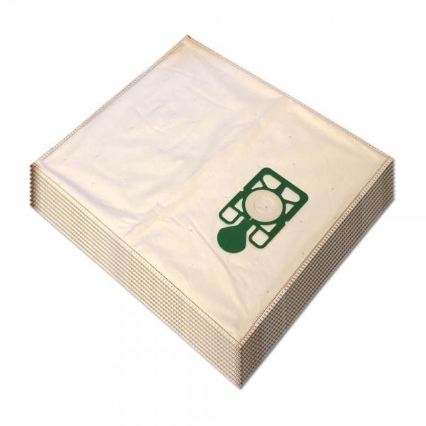 10 Mikrovlies Staubsaugerbeutel für NUMATIC NVM 1B/C / Henry, James, Hetty, Basil