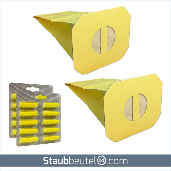 SPARSET 20 Staubsaugerbeutel + 20 Duft geeignet für Electrolux / LUX Z90 und Z100