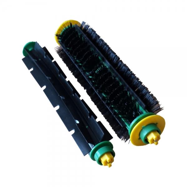 Bürstenset Borstenbürste + Klopfbürste geeignet für iRobot Roomba Serie 500 und PET
