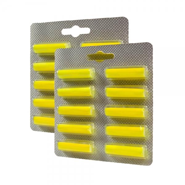 20 Duftstäbchen geeignet für alle Staubbeutel - mit Zitronenduft
