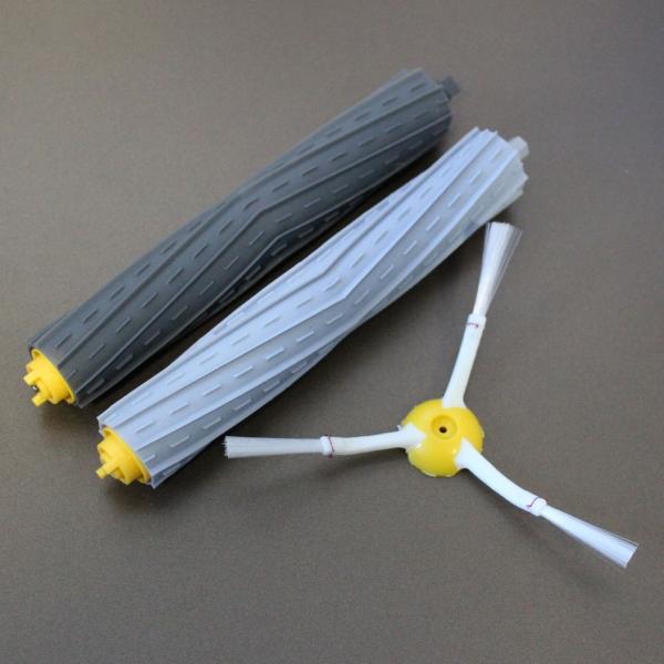 Kit Extractor Bürsten Abziehersatz + Seitenbürste geeignet für iRobot Roomba Serie 800 und 900