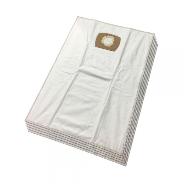 5 Mikrovlies Staubsaugerbeutel für Einhell, Thomas, ShopVac, Kärcher und Typ UNI30 - 30 Liter
