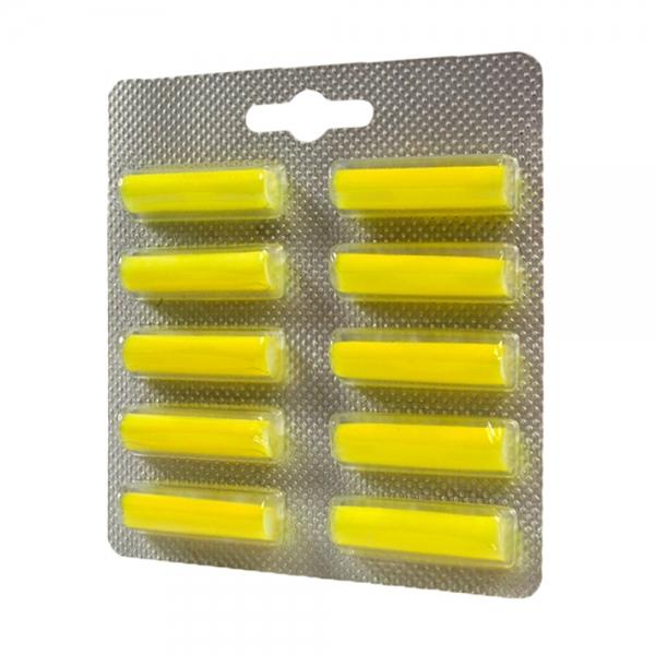 10 Duftstäbchen geeignet für alle Staubbeutel - mit Zitronenduft