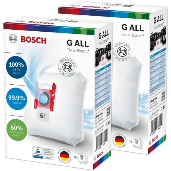 8 Staubsaugerbeutel für BOSCH PowerProtect Type G ALL - BBZ41FGALL