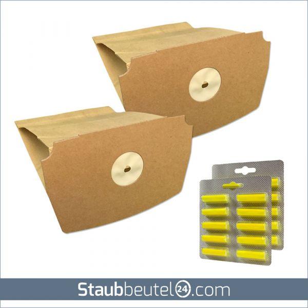 SPARSET 20 Staubsaugerbeutel + 20 Duft geeignet für Lux D 748 - D 795