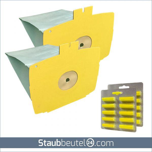 SPARSET 20 Staubsaugerbeutel + 20 Duft geeignet für Lux D 715 - D 745