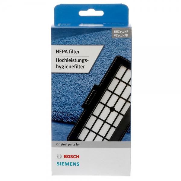 HEPA Hygienefilter für Bosch BBZ152HF,, Siemens VZ152HFB