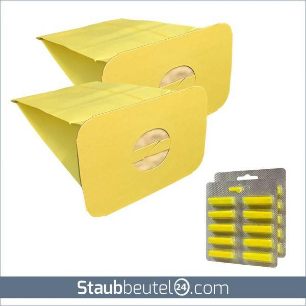 Sparset (20 Staubsaugerbeutel + 20 Duft) geeignet für Electrolux / Lux Z 317, Z 320, Z 325, Z 345