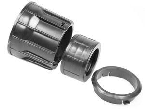 Staubsauger Anschluss geeignet für NUMATIC - 38 mm + Klickset