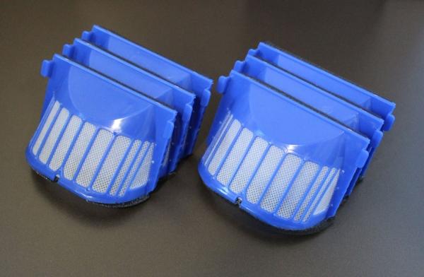 6 AeroVac Filter geeignet Für iRobot Roomba Serie 600 und PET