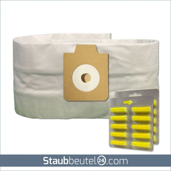 Sparset (10 Staubsaugerbeutel + 20 Duft) geeignet für Electrolux UZ930, Lux DP9000, Nilfisk GD930 MV