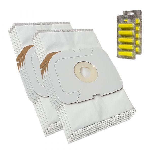 SPARSET - 10 Duftstäbchen + 8 Staubsaugerbeutel für LUX Intelligence Royal Edition, Typ AP11