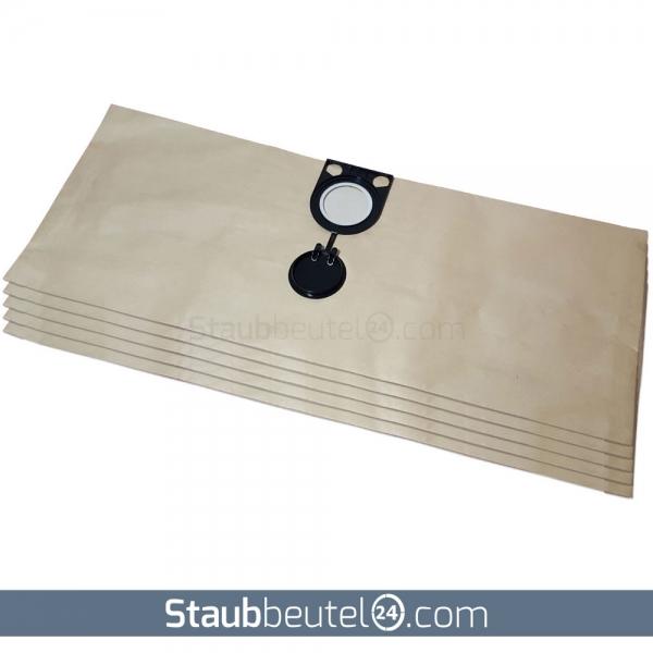 5 Staubsaugerbeutel geeignet für Starmix Typ HS / GS / AS - 20 Liter